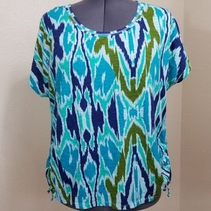 Lane Bryant Casual Top with Side Rusching 22/24